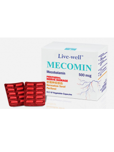 Live Well Mecomin 500mcg Capsule - 2+60s Pack Malaysia | JH Pharmex