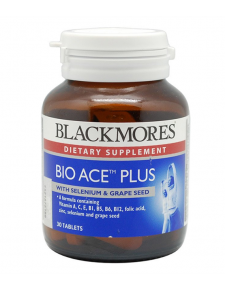 Blackmores Bio ACE Plus - 30 Tablets Malaysia | JH Pharmex