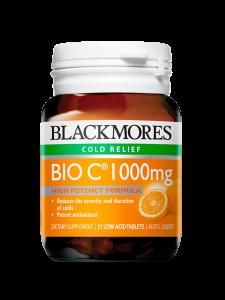 Blackmores Bio C 1000 mg - 30 Tablets Malaysia | JH Pharmex