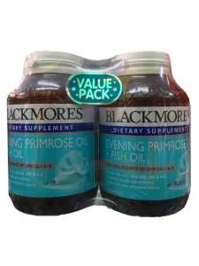 Blackmores Evening Primrose Oil + Fish Oil Malaysia - 2x120 | JH Pharmex