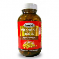 Hovid Vitamin E 400 IU Malaysia - Antioxidant | JH Pharmex support healthy immune system, increase stamina, improve blood circulation & refine skin texture