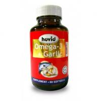 Hovid Omega 3 + Garlic 60 softgels Malaysia | JH Pharmex