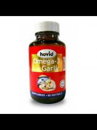 Hovid Omega 3 + Garlic - 60 softgels