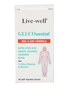 Live Well GLUCOsential 60's Malaysia | JH Pharmex