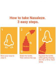 Nasaleze Allergy Blocker Nasal Spray Malaysia | JH Pharmex 1