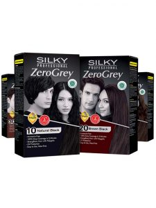Silky Professional Zero Grey Hair Dye Malaysia | JH Pharmex