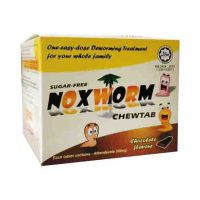 Noxworm ChewTab Chocolate Malaysia (Deworm) | JH Pharmex