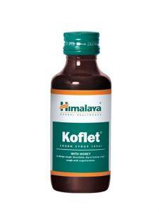 Himalaya Koflet Cough Syrup with Honey 100ml | JH Pharmex