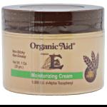 Organic Aid Vitamin E Moisturizing Cream | JH Pharmex