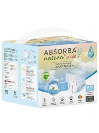 Absorba Nateen Super Pull Up Pants Adult Diapers | JH Pharmex