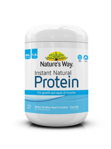 Nature's Way Instant Natural Protein Vanilla 375g | JH Pharmex