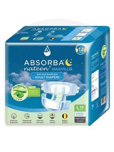 BSORBA Nateen Maxi Plus Adult Diapers 10's | JH Pharmex 2