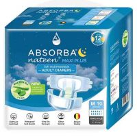 ABSORBA Nateen Maxi Plus Adult Diapers 10's | JH Pharmex