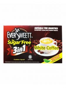 EverSweett Sugar Free 3-in-1 White Coffee 16gm x 15's   JH Pharmex