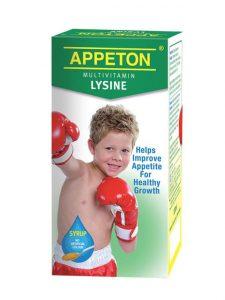 Appeton Multivitamin Lysine (Syrup) - 120ml | JH Pharmex