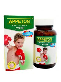 Appeton Multivitamin Lysine with Prebiotics (Tablet) - 60's