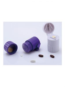 Homecare Cutter & Crusher Pill Box 3 in 1 | JH Pharmex