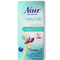 Nair Nourish Argan Oil Upper Lip Kit Hair Remover  JH Pharmex