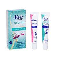 Nair Nourish Argan Oil Upper Lip Kit Hair Remover  JH Pharmex 1