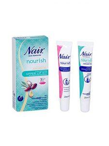 Nair Nourish Argan Oil Upper Lip Kit Hair Remover| JH Pharmex 1