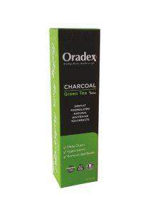 Oradex Charcoal Green Tea Whitening Toothpaste - 120g | JH Pharmex 1