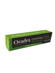 Oradex Charcoal Green Tea Whitening Toothpaste - 120g | JH Pharmex