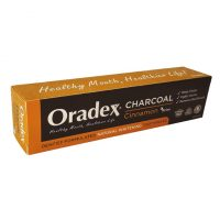 Oradex Charcoal Cinnamon Whitening Toothpaste - 120g | JH Pharmex 3