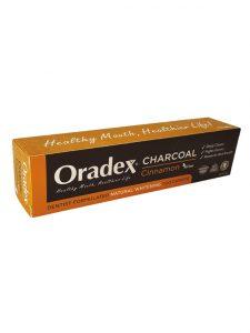 Oradex Charcoal Cinnamon Whitening Toothpaste - 120g | JH Pharmex 3