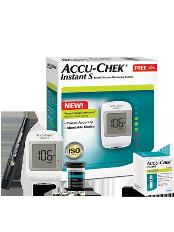 Accu-Chek Instant S Starter Kit | JH Pharmex