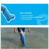 Waterlock Cast & Bandage Cover for Leg | JH Pharmex