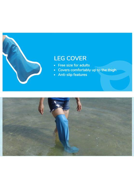 Waterlock Cast & Bandage Cover for Leg | JH Pharmex