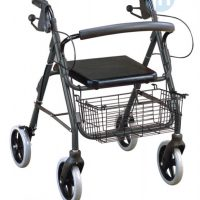 Rollator Walker with Basket (NPE91070) | JH Pharmex 1