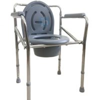 YM Care Folding Commode Chair | JH Pharmex