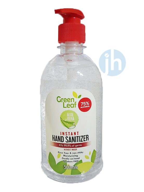 Green Leaf Instant Hand Sanitizer - 500ml | JH Pharmex