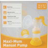 Maxi Mum Manual Breast Pump | JH Pharmex