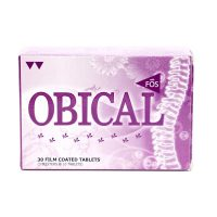 Obical with FOS Tablets 30's + 10's | JH Pharmex