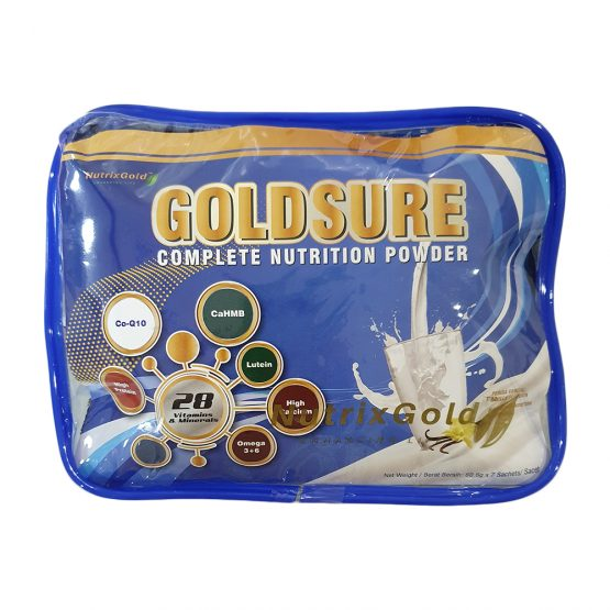 Nutrixgold Goldsure Complete Nutrition 7 sachets/bag | JH Pharmex